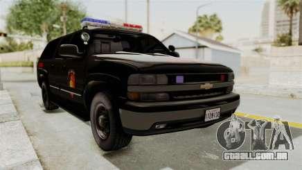 Chevrolet Suburban Indonesian Police RESMOB Unit para GTA San Andreas