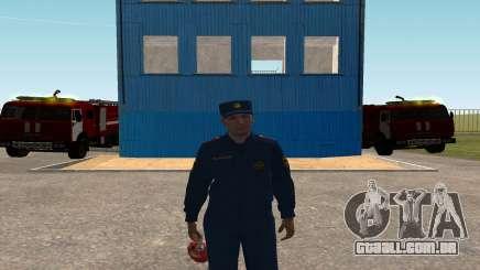 O Coronel EMERCOM da Rússia para GTA San Andreas