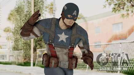 Captain America Civil War - Captain America para GTA San Andreas