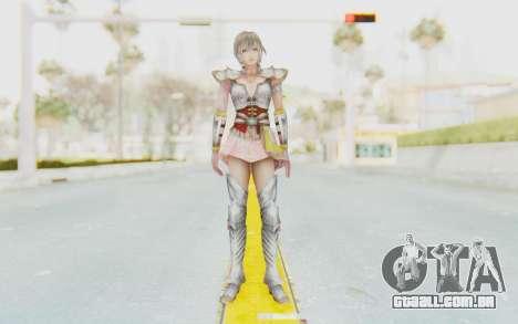 Dynasty Warriors 8: Xtreme Legends - Lu Lingqi 2 para GTA San Andreas segunda tela