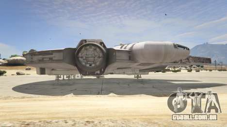 GTA 5 Star Wars Millenium Falcon 5.0 quinta imagem de tela