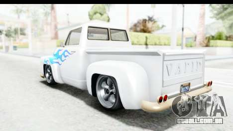 GTA 5 Vapid Slamvan Custom IVF para as rodas de GTA San Andreas