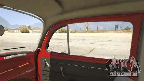 GTA 5 1963 Volkswagen Beetle 1.0.1 vista lateral direita