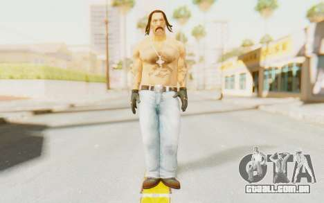 Def Jam Fight For New York - Danny Trejo para GTA San Andreas segunda tela