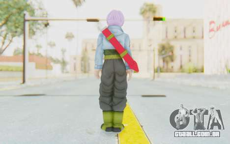 Trunks Del Futuro v1 para GTA San Andreas terceira tela