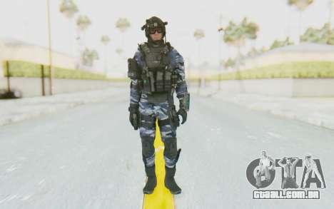 Federation Elite Assault Urban-Navy para GTA San Andreas segunda tela