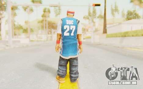 Def Jam Fight For New York - Redman para GTA San Andreas terceira tela