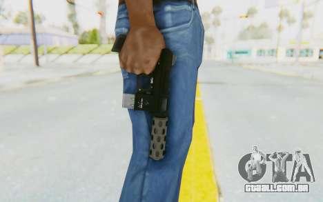 GTA 5 Vom Feuer Machine Pistol para GTA San Andreas terceira tela