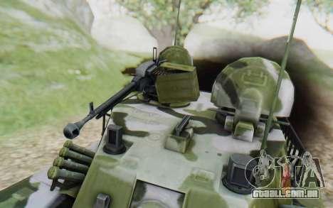 Norinco Type 63 para GTA San Andreas vista traseira