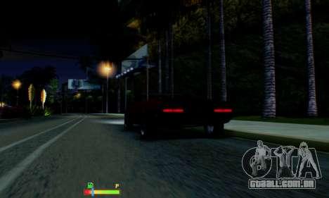 Chevrolet 369 Camaro SS para GTA San Andreas vista inferior