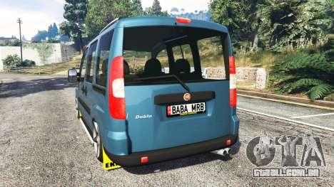 Fiat Doblo para GTA 5