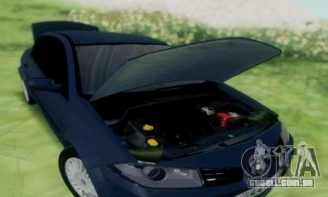Renault Megane 2004 para GTA San Andreas traseira esquerda vista