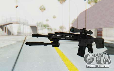 CoD: MW3 - Remington RSASS para GTA San Andreas segunda tela