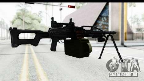Kalashnikov PK (PKM) Iron Sights para GTA San Andreas terceira tela