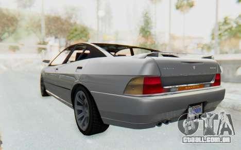 GTA 5 Imponte DF8-90 IVF para GTA San Andreas esquerda vista