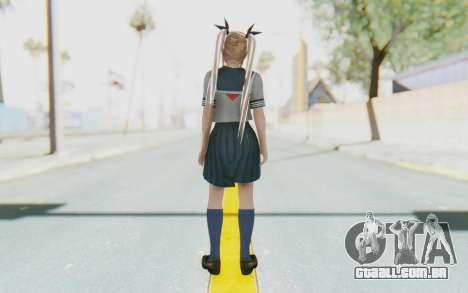 DoA 5: LR - Marie Rose (NewComer) para GTA San Andreas terceira tela
