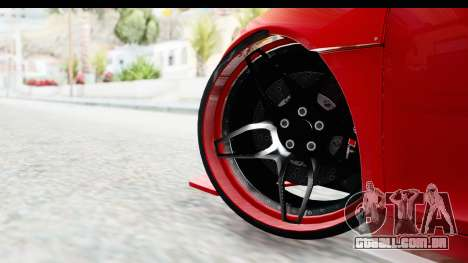 Audi R8 5.2 V10 Plus LB Walk para GTA San Andreas traseira esquerda vista