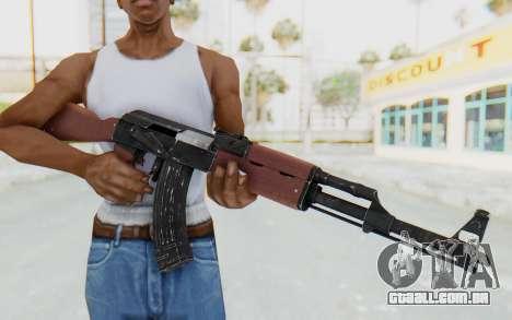Assault AK-47 para GTA San Andreas terceira tela