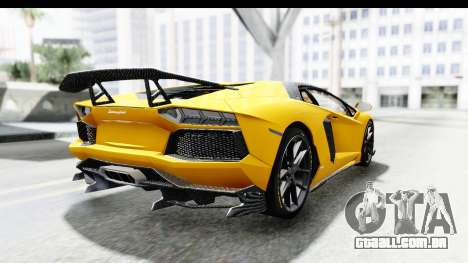 Lamborghini Aventador LP700-4 LB Walk para GTA San Andreas esquerda vista