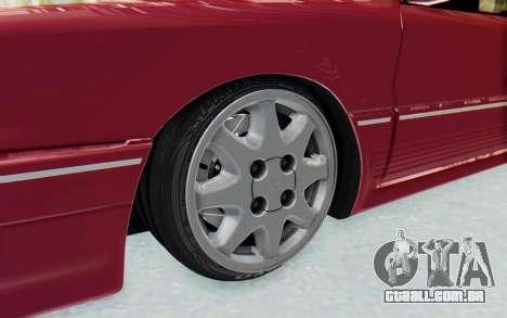 Mitsubishi Galant VR4 1992 para GTA San Andreas vista traseira