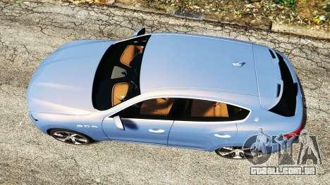 GTA 5 Maserati Levante 2017 [add-on] voltar vista