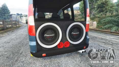 GTA 5 Fiat Doblo volante