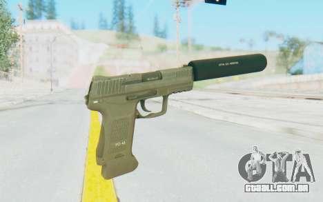 HK45 Silenced para GTA San Andreas terceira tela