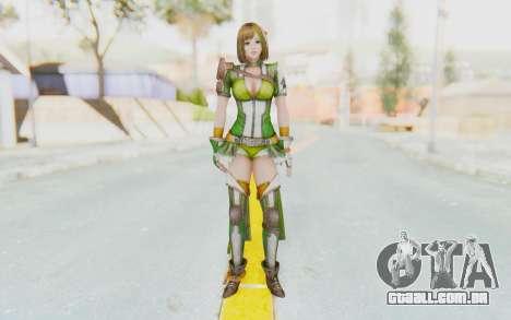 Dynasty Warriors 8 - Bao Sanniang para GTA San Andreas segunda tela
