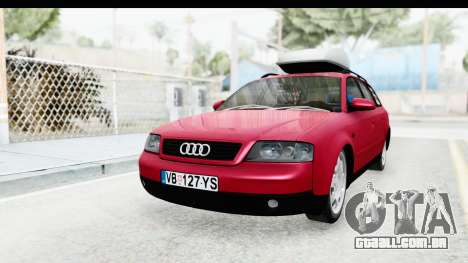 Audi A6 C5 Avant Sommerzeit para GTA San Andreas vista direita