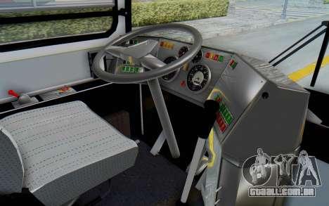 Ikarus 260 Istanbul para GTA San Andreas vista interior