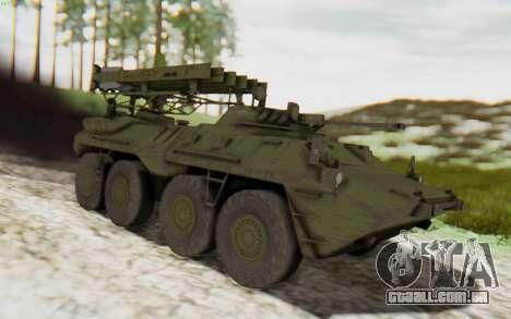 MGSV Phantom Pain ZHUK APC Tank para GTA San Andreas