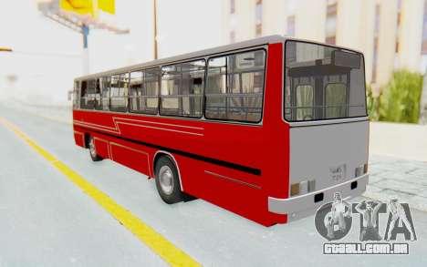 Ikarus 260 Istanbul para GTA San Andreas esquerda vista
