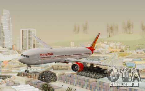 Boeing 777-300ER India Air para GTA San Andreas