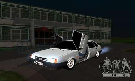 2109 para GTA San Andreas vista traseira
