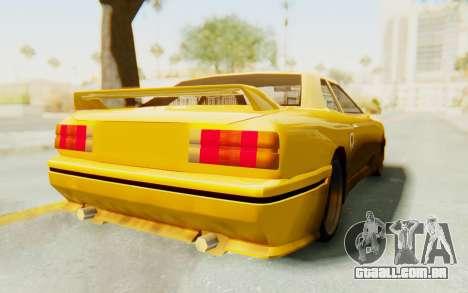 Elegy E30 para GTA San Andreas vista direita