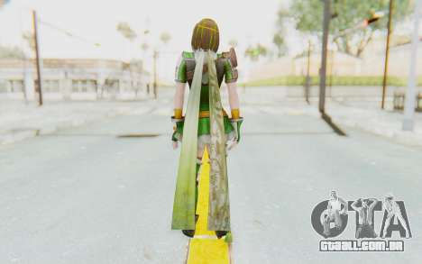 Dynasty Warriors 8 - Bao Sanniang para GTA San Andreas terceira tela