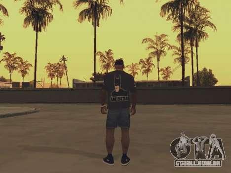 T-shirt que eu sou o BATMAN para GTA San Andreas