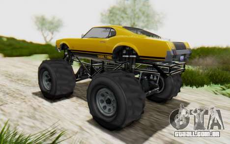 Declasse Sabre Turbo XL para GTA San Andreas esquerda vista