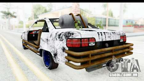 Chevrolet Caprice 2012 End Of The World para GTA San Andreas vista direita
