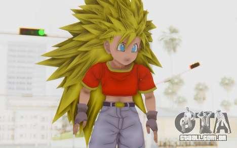 Dragon Ball Xenoverse Pan SSJ3 para GTA San Andreas