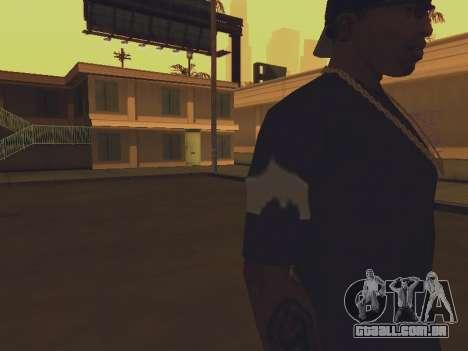 T-shirt que eu sou o BATMAN para GTA San Andreas terceira tela