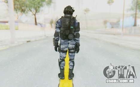 Federation Elite Shotgun Urban-Navy para GTA San Andreas terceira tela