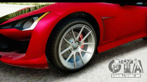 GTA 5 Lampadati Furore GT IVF para GTA San Andreas vista traseira