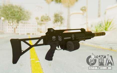 GTA 5 DLC Finance and Felony - Special Carbine para GTA San Andreas segunda tela