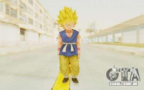 Dragon Ball Xenoverse Goku Kid GT SSJ para GTA San Andreas segunda tela
