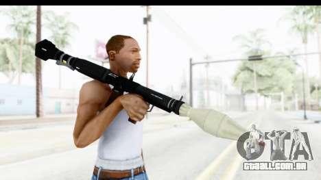 GTA 5 Shrewsbury Rocketlauncher para GTA San Andreas terceira tela