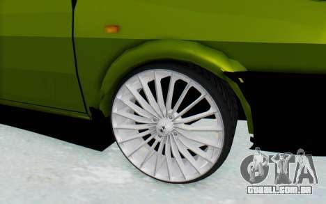 Dacia 1300 4x4 para GTA San Andreas vista traseira
