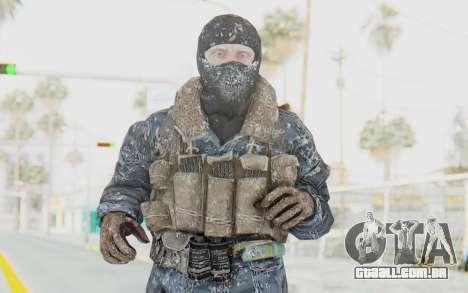COD BO Russian Soldier Winter Balaclava para GTA San Andreas