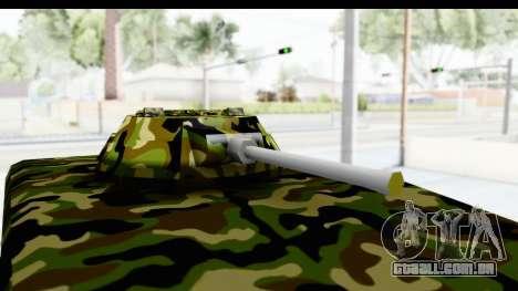 UAZ-469 polícia Militar da Sérvia para GTA San Andreas vista traseira