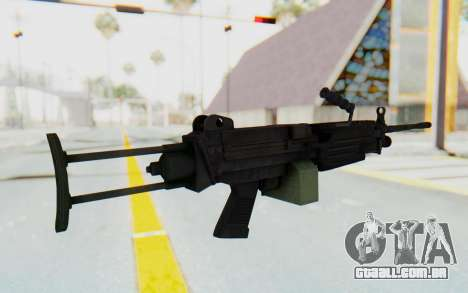 FN Minimi M249 Para para GTA San Andreas terceira tela